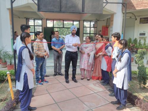 DPI UT Sh Rubinderjit Singh Brar inaugurating Science Park