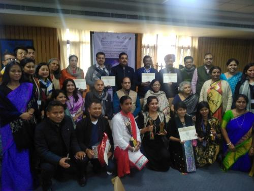 Nationl Level Competition of Teaching Learning Designs using Film Clips held at Amity University Noida from 16th Feb to 17th Feb 2019 under  the title of 'Cinema in the Class; Learning with Moving Images' by the initiative of Bichitra Pathshala and Vigyaan Prasar an autonomous organization under department of Science and Technology Govt of India .It is a matter of proud for GMHS Sec  49 D Chandigarh that Mr AMANDEEP SAHNI TGT (Maths ) GMHS Sec  49 D participated in the competition organised under the guidance of Dr Nakul Prashar Director Vigyaan Prasar, Mr Nimish Kapoor scientist 'E' Vigyaan Prasar,Mr S.V. Raman President Bichitra Pathshala  Mrs Subha Das Mollick Secretary Bichitra  Pathshala.Teachers from Shillong, Chandigarh, Darjeeling, Luckhnow, Bhopal, Chennai and Vishakhapatnam participated in the competition.
